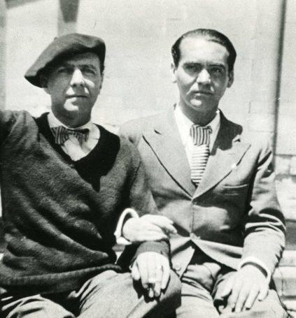 Carlos Morla Lynch y Federico Garcia Lorca