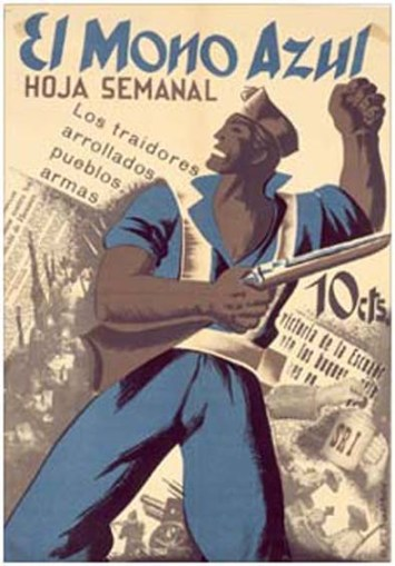 El Mono Azul Guerra Civil