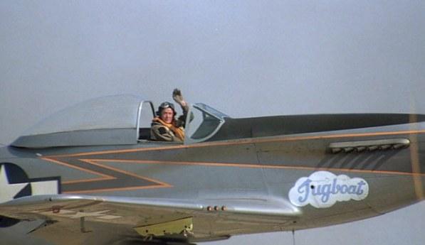 Mustang P 51 Imperio del sol