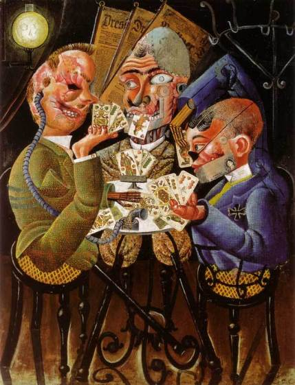 Otto Dix Scat Players Card