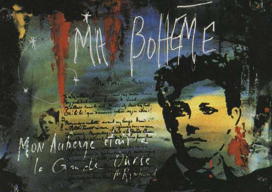 Rimbaud grafiti