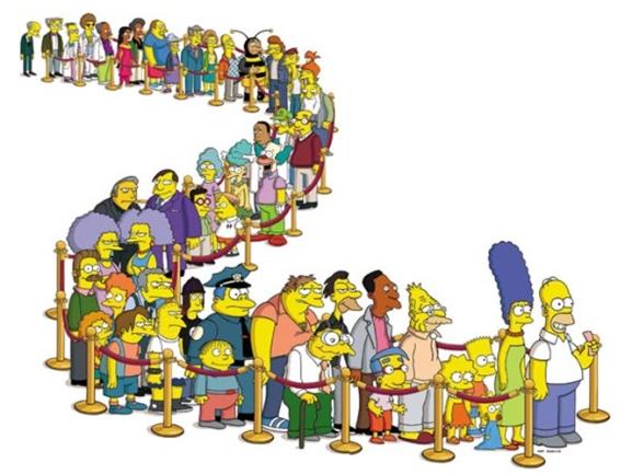 Todos los personajes de los Simpson