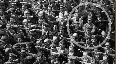 Hombre que negó el saludo a Hitler