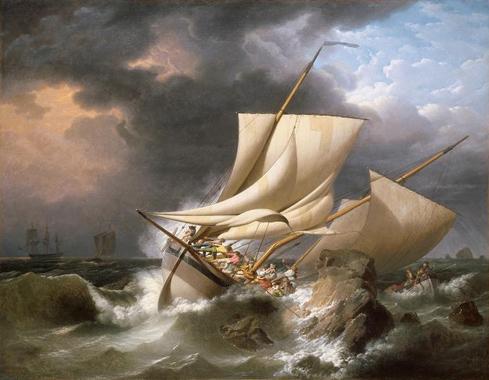 Louis Philippe Crepin naufragio