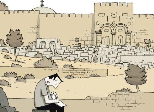 Guy Delisle Crónicas de Jerusalén