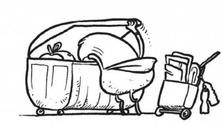 Europesadilla cubo de la basura