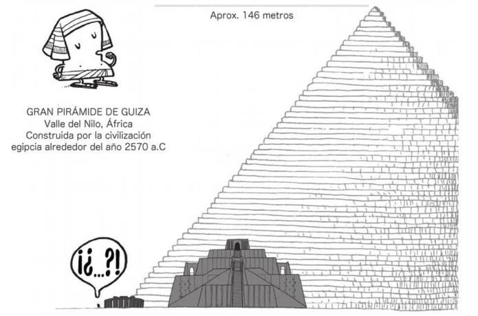 Europesadilla la pirámide de Guiza y Stonehenge