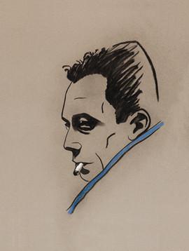 Albert Camus retratado por Úrculo