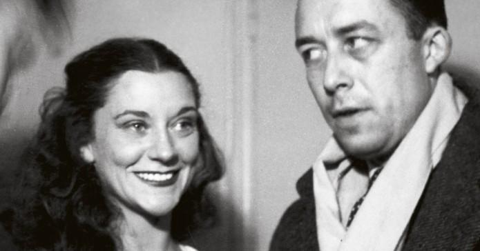 Maria Casares y Albert Camus