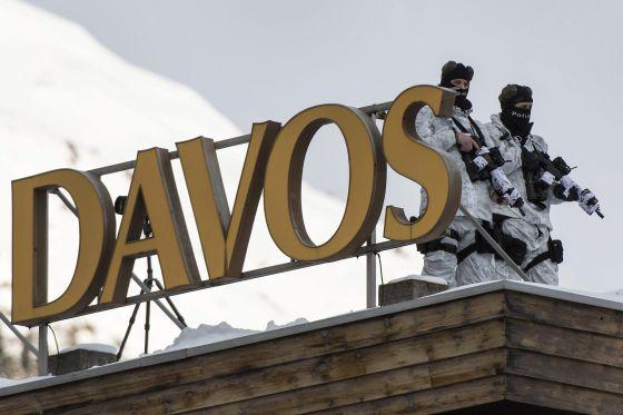 Seguridad en Davos
