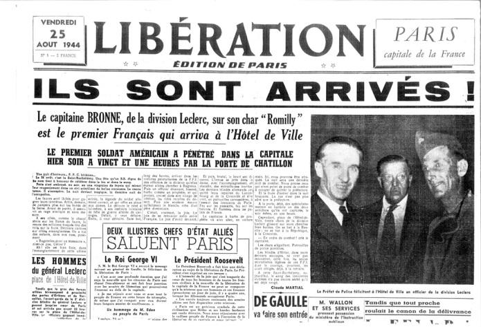 Amado Granell liberando París