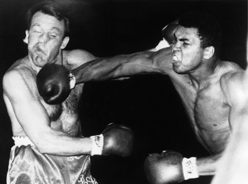 MUHAMMAD ALI CONTRE BRIAN LONDON EN 1966