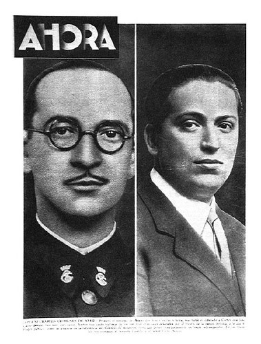 Diario Ahora asesinato teniente Castillo y Calvo Sotelo