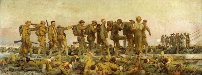 John Singer Sargent, Gassed