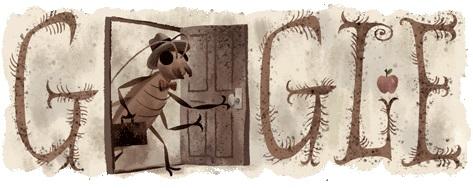 Doodle del 130 aniversario de Kafka