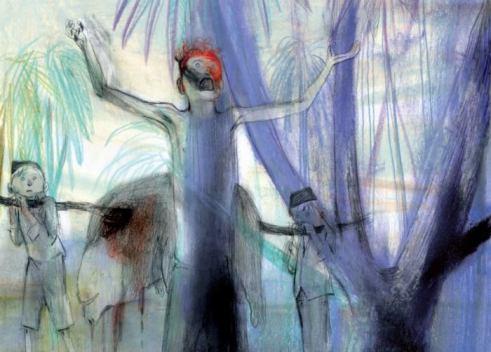 El señor de las moscas ilustrado por Jorge González 4