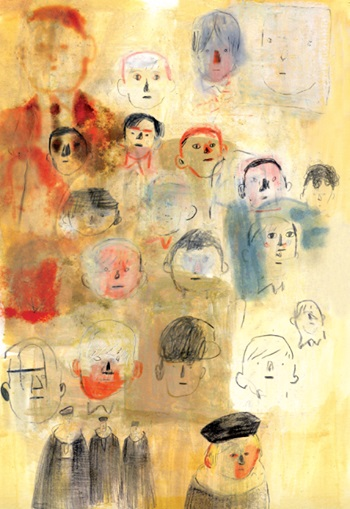 El señor de las moscas ilustrado por Jorge González 5