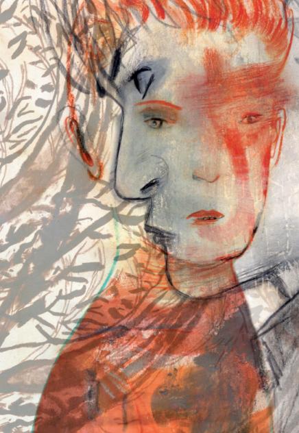El señor de las moscas ilustrado por Jorge González