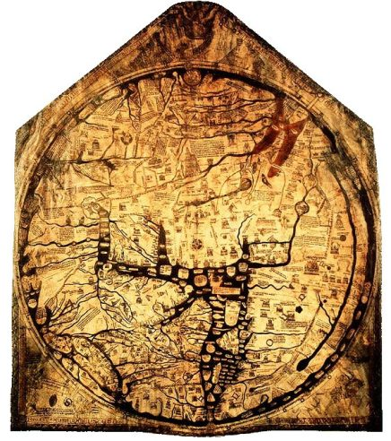 Mapamundi de Hereford