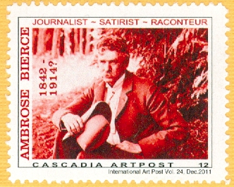 Bierce, Ambrose-Stamp