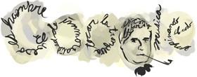 Doodle 121 aniversario Ramón Gómez de la Serna