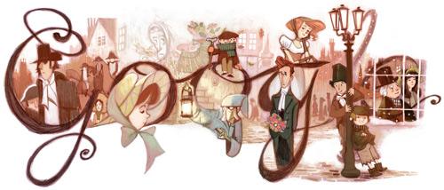 Doodle 200 aniversario Charles Dickens