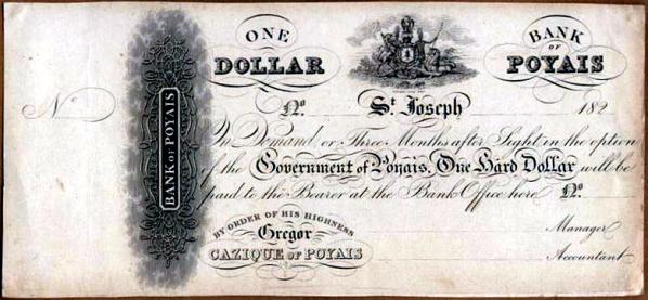 Un dólar de Poyais