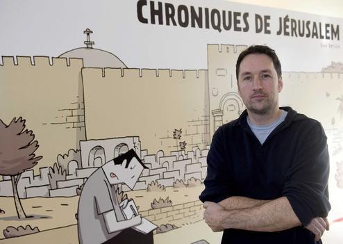 Guy Delisle en persona y caricatura