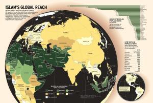 El mapa del Islam