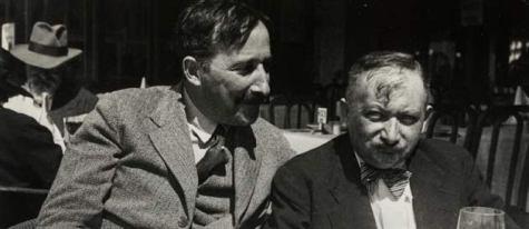 Stefan Zweig y Joseph Roth