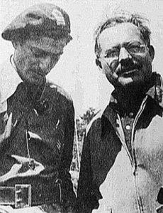 Milton Wolff y Hemingway