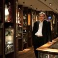 Orhan Pamuk en el Museo de laInocencia