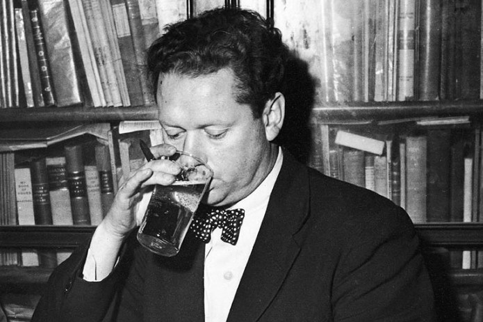 Dylan Thomas Drinking & Smoking