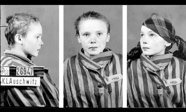Czesława Kwoka prisionera de Auschwitz