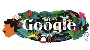 doodle 91 aniversario García Márquez