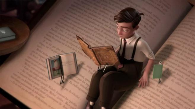 The Fantastic Flying Books of Mr. Morris Lessmore 4