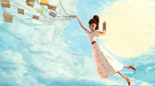 Resultado de imagen de libros voladores