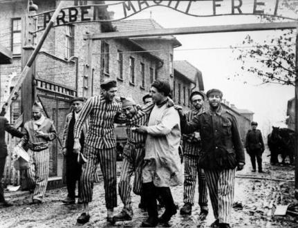 Liberation Auschwitz by Boris Ignatovich