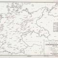 Mapa estadounidense de los campos concentración nazis1944