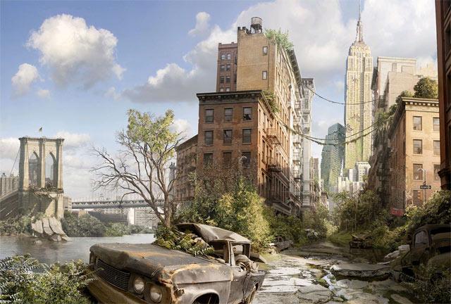 Nueva York sin humanos