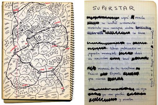 Mapa de 'El Tercer Reich' de Roberto Bolaño