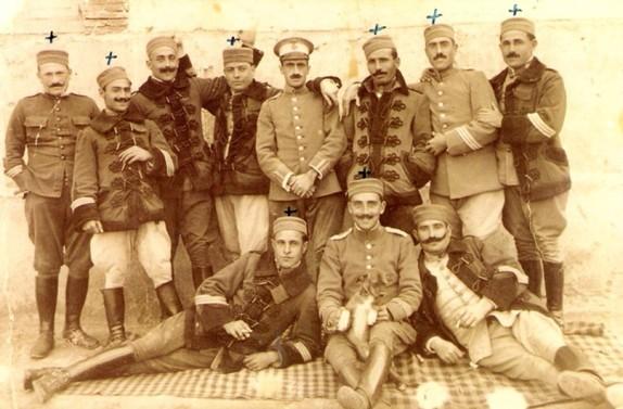 Soldados españoles muertos en la Guerra de Marruecos