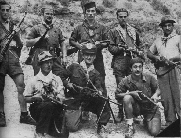 Partisanos italianos durante la Segunda Guerra Mundial