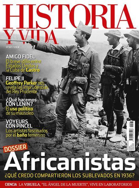 Historia y Vida Junio 2015 Africanistas