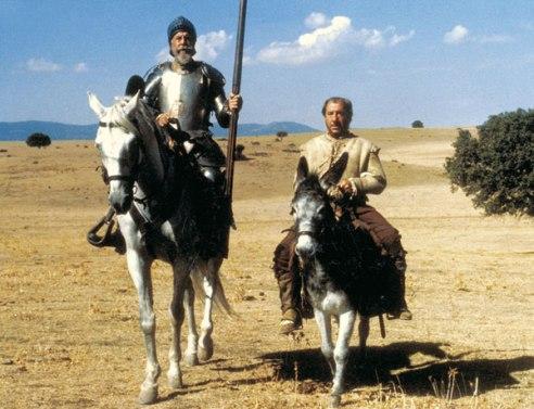 Don Quijote Fernando Rey Sancho Panza Alfredo Landa
