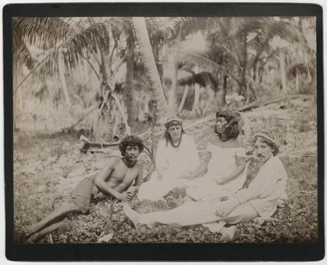Stevenson en Samoa