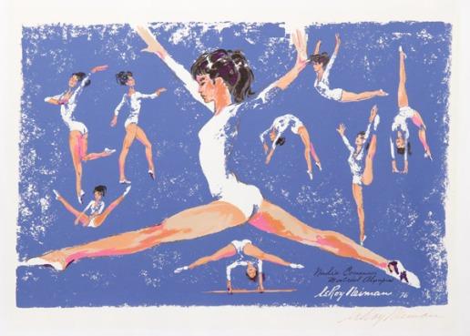 Neiman-Nadia_Comenaci_Montreal_Olympics_1976