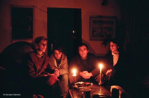 Gervasio Sanchez familia Dzuheric cerco Sarajevo diciembre 1993