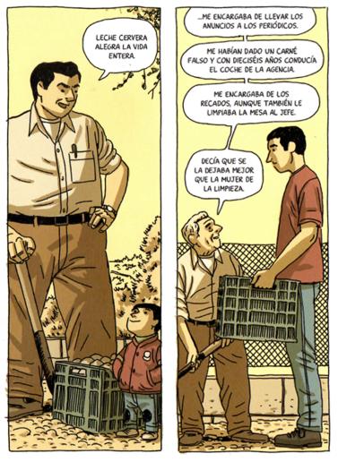 La Casa Paco Roca el padre gigante
