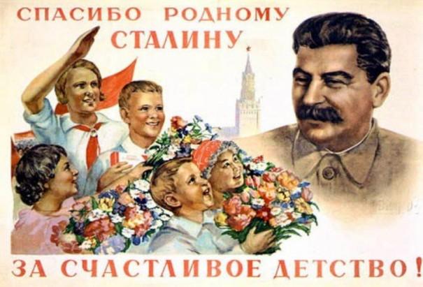 Stalin niños propaganda
